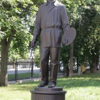 «Памятник Михаилу Нестерову», Николай Калинушкин, Владимир Лобанов, Фирдант Нуриахметов (Салиравия)