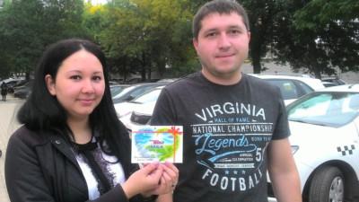 Награждение победителя в викторине «Узнай башкирских художников»!