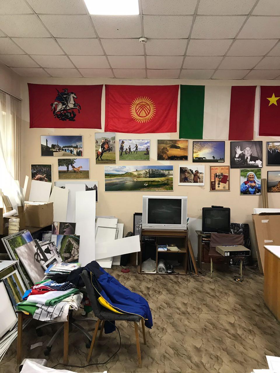 В мастерской у фотохудожника Рамиля Кильмаматова