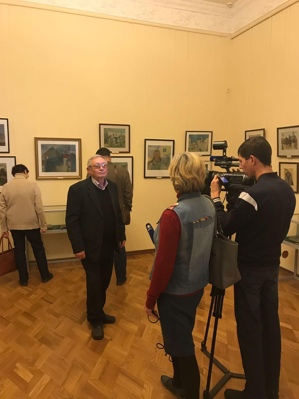 «Интерпретации»: персональная выставка к 70-летию со дня рождения художника Роберта Ягафарова