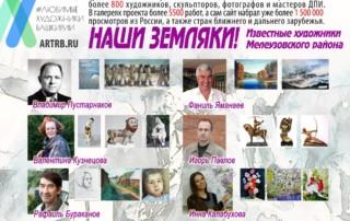 Художественный тур проекта «Любимые художники Башкирии» – готовимся к путешествию в Мелеуз!