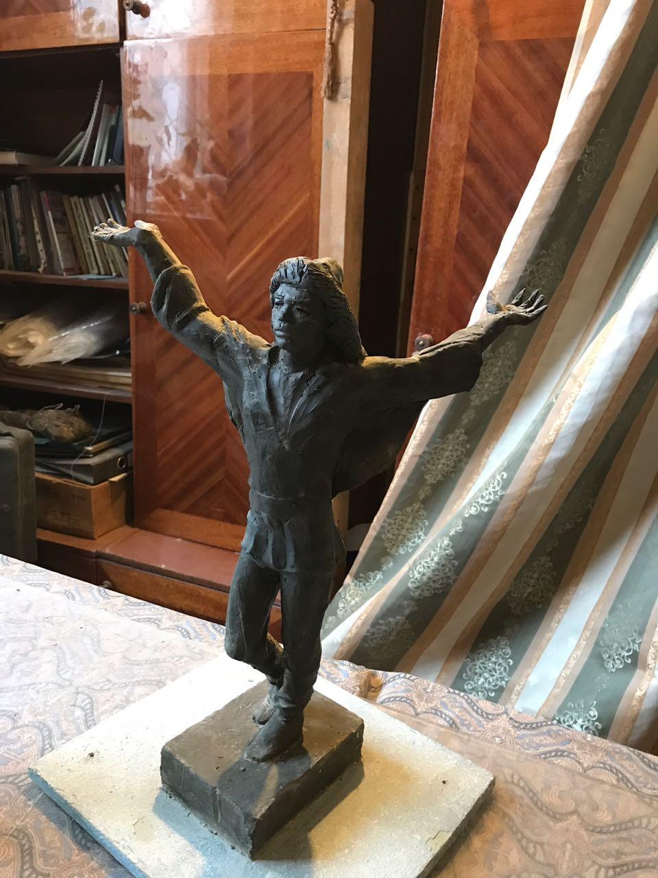 В гостях у башкирского скульптора Мавлетбая Халилова