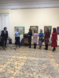 «Мои миры интента»: открылась персональная выставка художника Руслана Ахунова