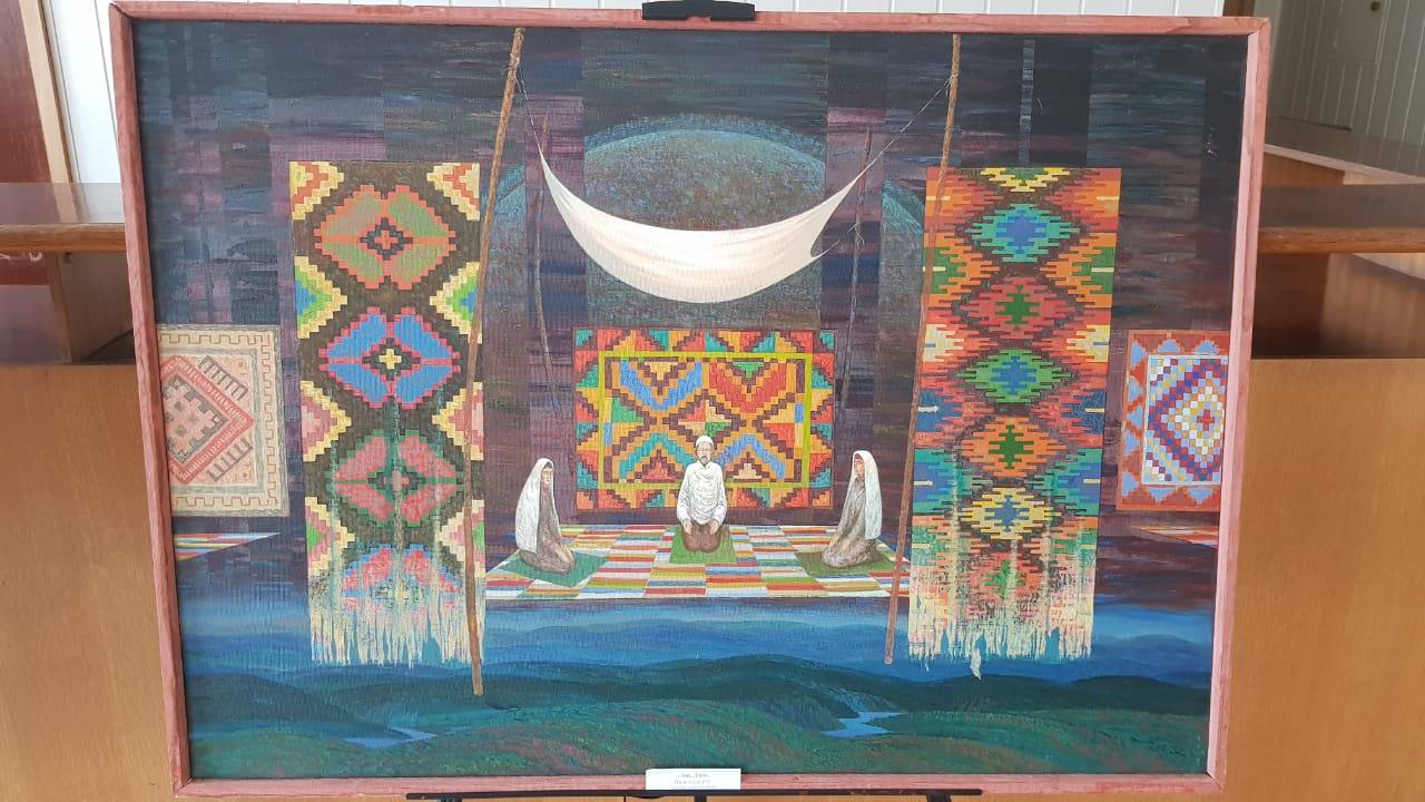 Художественный тур проекта №20 – встреча с художниками в Бурзяне
