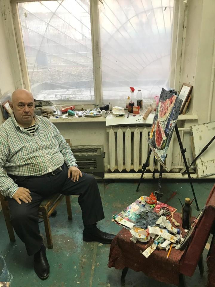В гостях у уфимского художника Юрия Уждавини