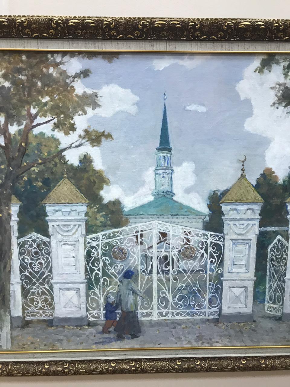 Открытие персональной выставки башкирского художника Ильдара Бикбулатова