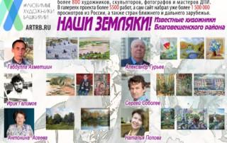 Художественный тур проекта «Любимые художники Башкирии» – встреча в Благовещенске!