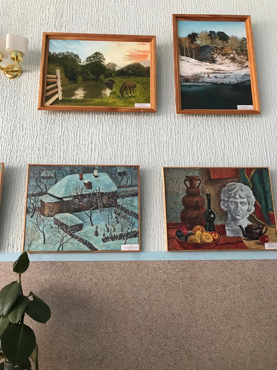 Художественный тур проекта №25 – встреча с художниками в селе Кармаскалы!