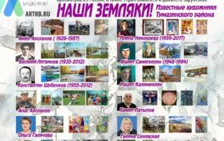 Художественный тур проекта «Любимые художники Башкирии» – встреча в городе Туймазы!