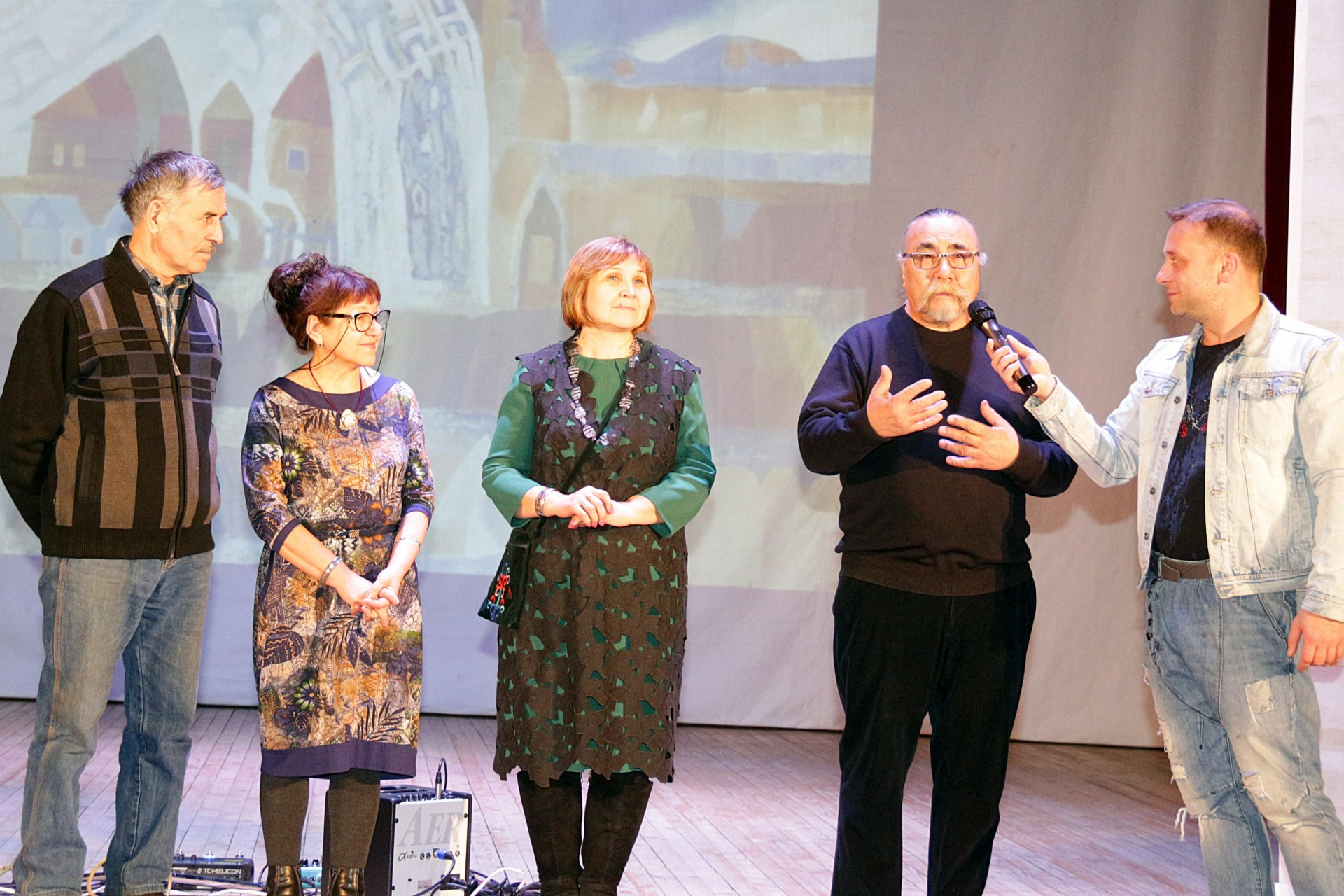 Художественный тур проекта №19 – встреча с художниками в селе Толбазы
