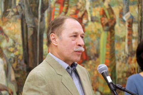 Открытие выставки к 50-летию факультета изобразительных искусств Уфимского государственного института искусств