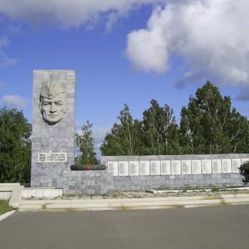 Мемориал горнякам, павшим в боях за Родину в 1941-1945гг, Хайдар Гарипов