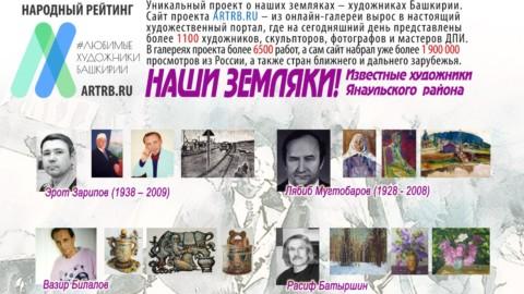 Художественный тур проекта «Любимые художники Башкирии» – встреча в городе Янаул!