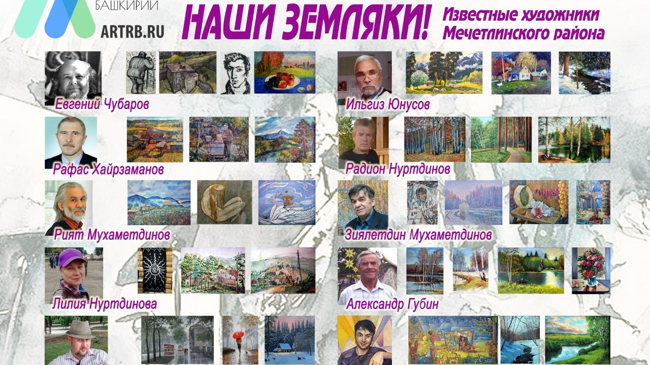 Художественный тур проекта «Любимые художники Башкирии» – встреча в Мечетлинском районе!
