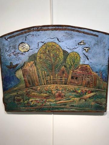 «Керамизмы» Виталия Николаева в галерее «Мирас»