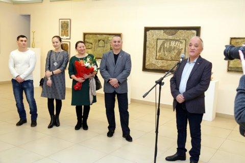 Открытие выставки, посвященной 60-летию художника Салавата Гилязетдинова