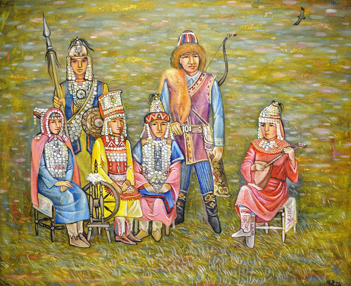 «Территория 3000» открывает выставку работ лауреатов проекта «Любимые художники Башкирии» за 2018 год
