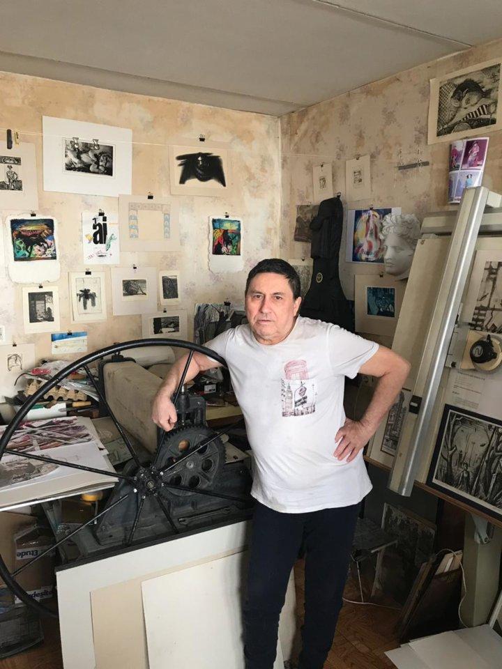 В гостях у башкирского художника Наиля Вагапова