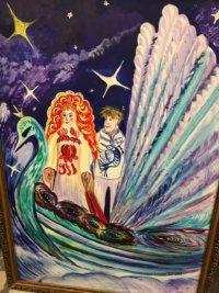 Выставка «Театр+ИЗО»: художники, дети и зрители творят вместе!