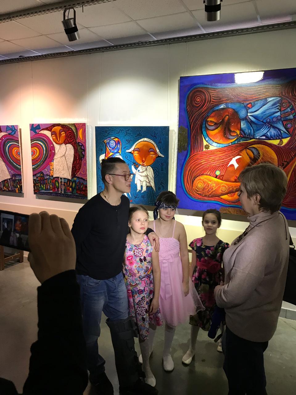 Открытие персональной выставки художника Валерия Иванова в лайфстайл-центре «Башкирия»