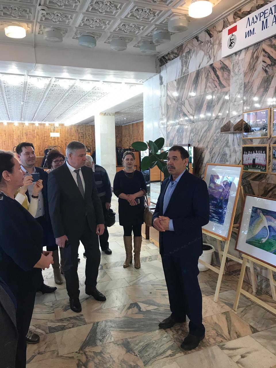 Художественный тур проекта №43 – творческая встреча с художниками в Миякинском районе