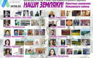Художественный тур проекта «Любимые художники Башкирии» – встреча в Илишевском районе!