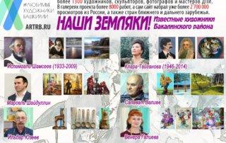 Художественный тур проекта «Любимые художники Башкирии» – встреча в Бакалинский районе!