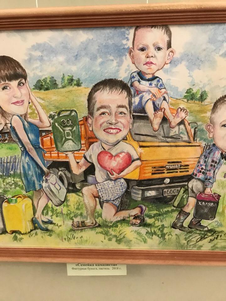 Открытие персональной выставки молодого художника Руслана Камалова