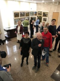 Участники проекта «Арт-Путь» открыли выставку «Моя малая Родина»