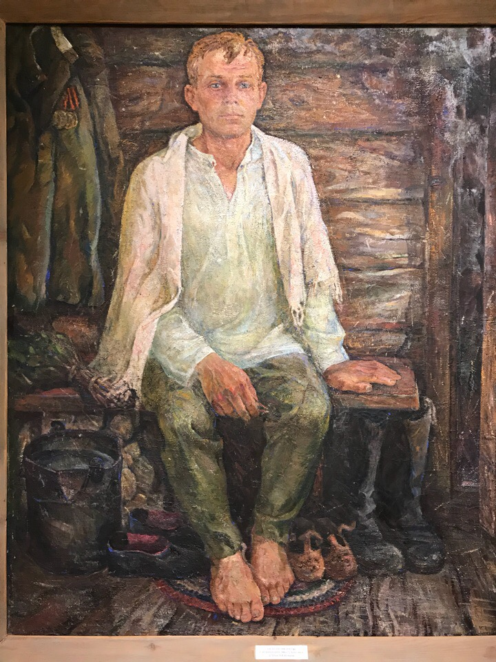 Открытие юбилейной выставки-памяти художника Виктора Пегова
