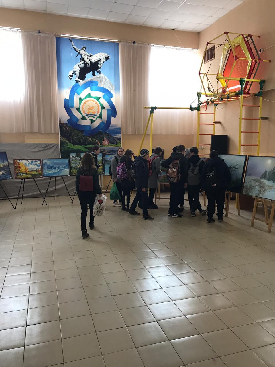 Художественный тур проекта №57 – творческая встреча с художниками в Калтасинском районе!