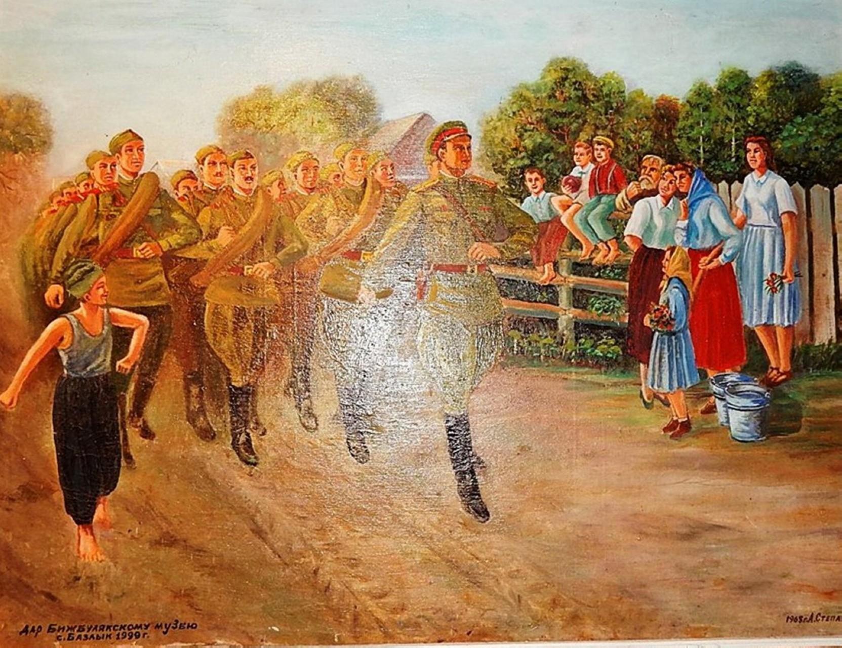 «Лето 1941-го», Афанасий Степанов