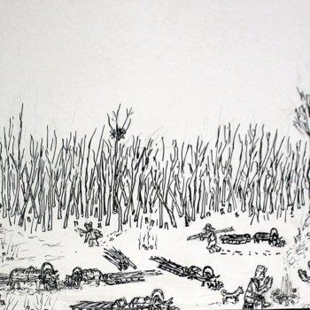 «Заготовка дров», Габид Гималов