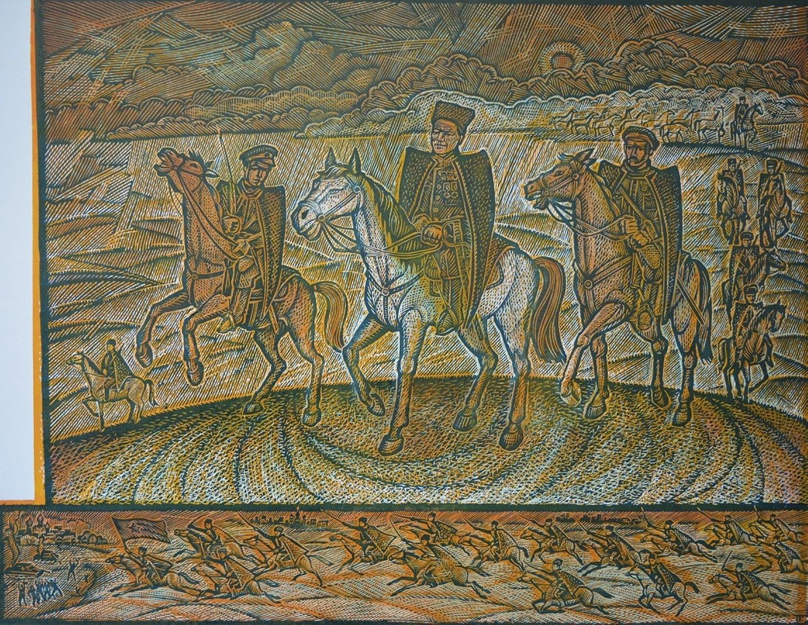 «112-я башкирская конная дивизия генерала Шаймуратова», Фаниль Шаймухаметов