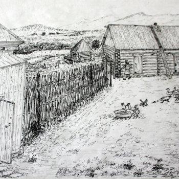 «Поиски потерявшегося мальчика. 1942 год, д. Мечетлино», Габид Гималов