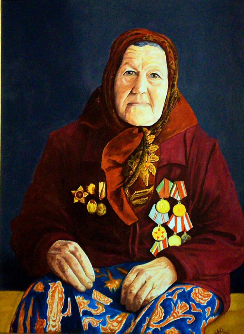 «Расскажи мне бабушка о войне», Рустам Мухаметов