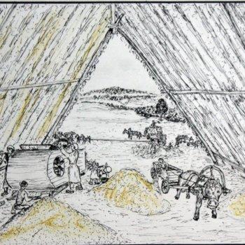 «Соломенный зерноток», Габид Гималов