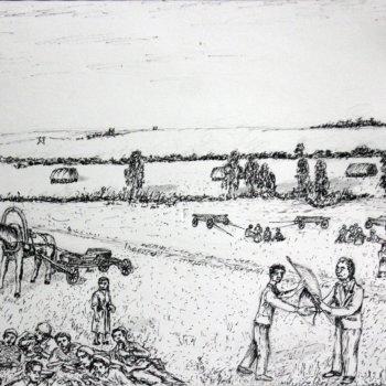 «Субботник по заготовке сена», Габид Гималов