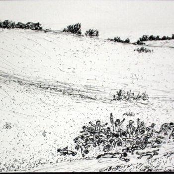 «Расстрел сельчан д. Мечетлино 1918 год», Габид Гималов
