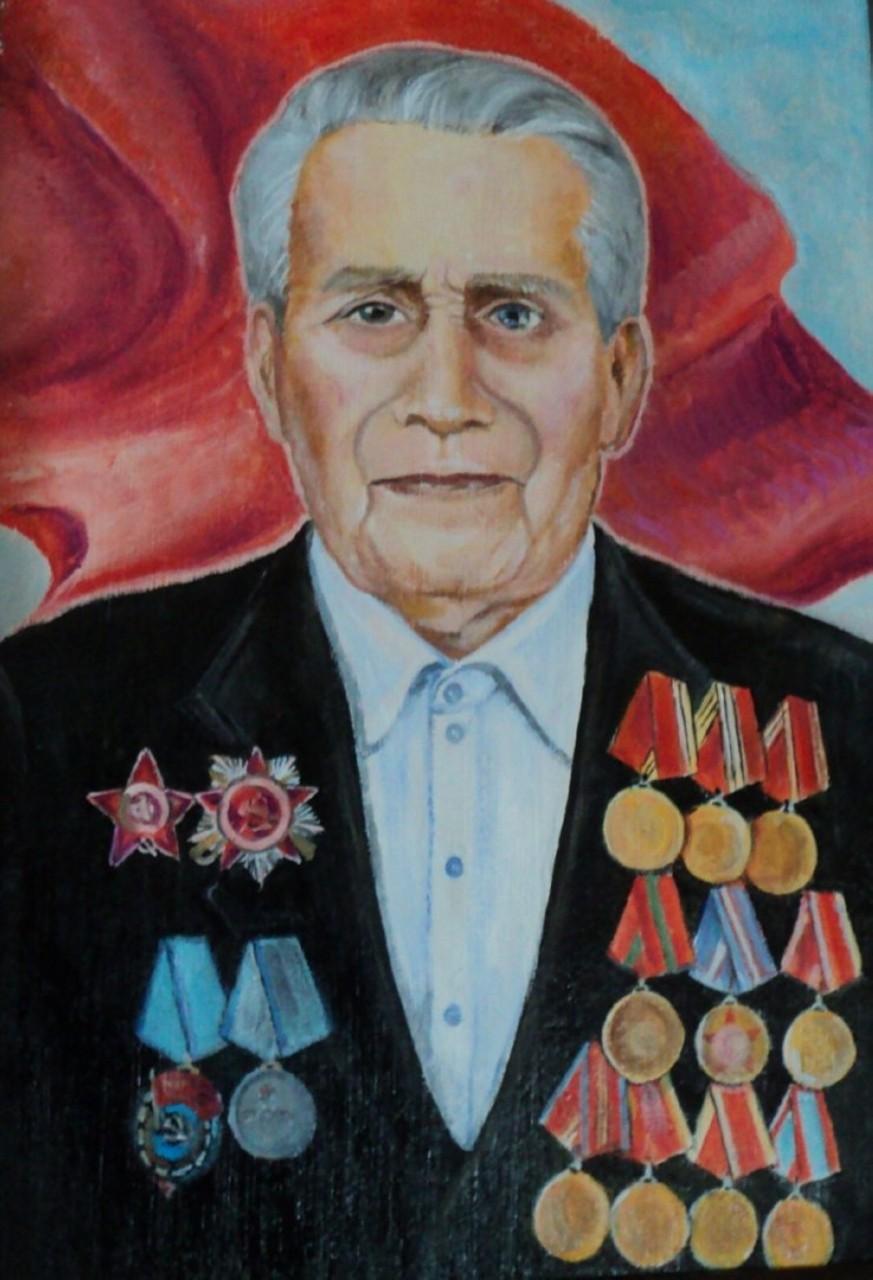 «Портрет ветерана», Надежда Щеколдина