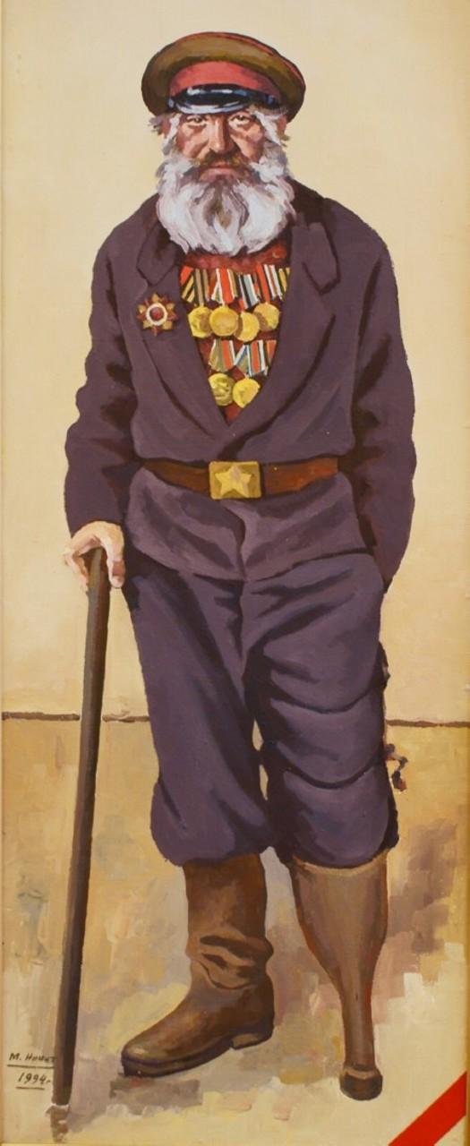 «Дедушка-победушка», Михаил Никитин