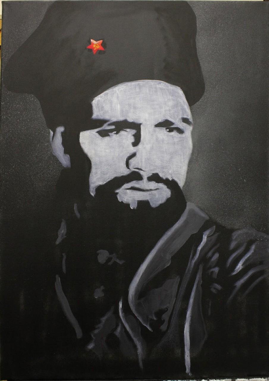 Портрет «Чёрного Генерала» Даяна Мурзина, Олег Кайбышев