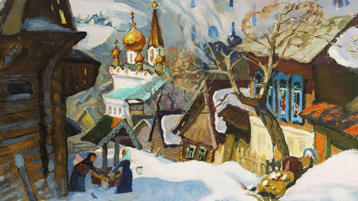 ART-очерки Татьяны Красновой: выставка Александра Бурзянцева