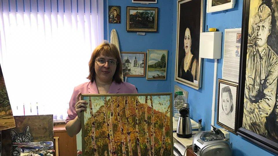 В гостях у художников Александра Ванзина и Юлии Куклиной