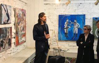 «Жест» в музейной ночи: открытие выставки 30 башкирских художников