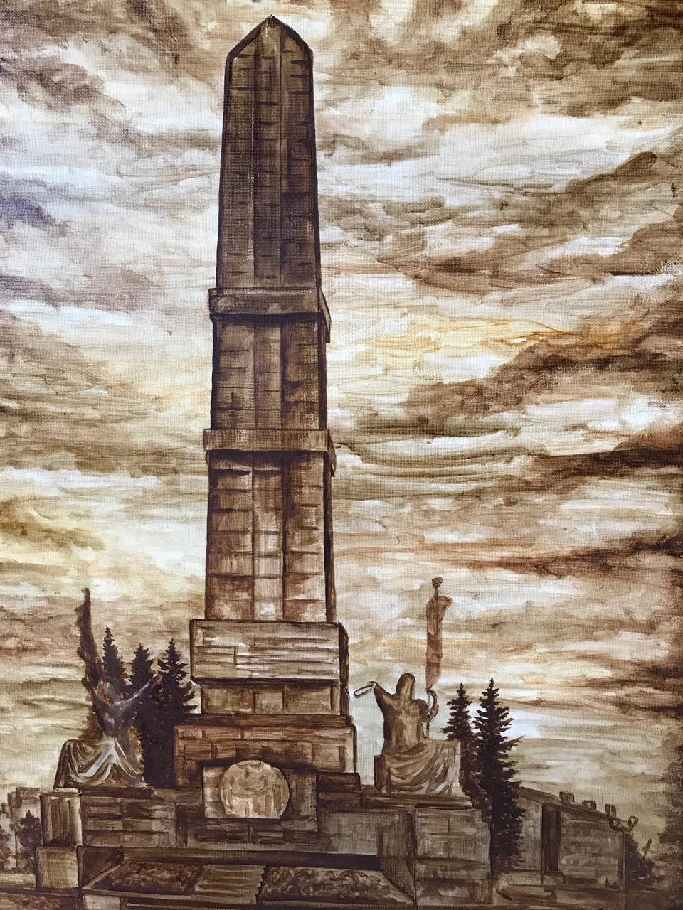 Выставка работ художника-самородка Марселя Шайдуллина на форуме «Газ. Нефть. Технологии»