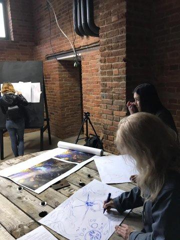 5 художников в «Арт-квадрате» = перформанс «Оригинал или копия»