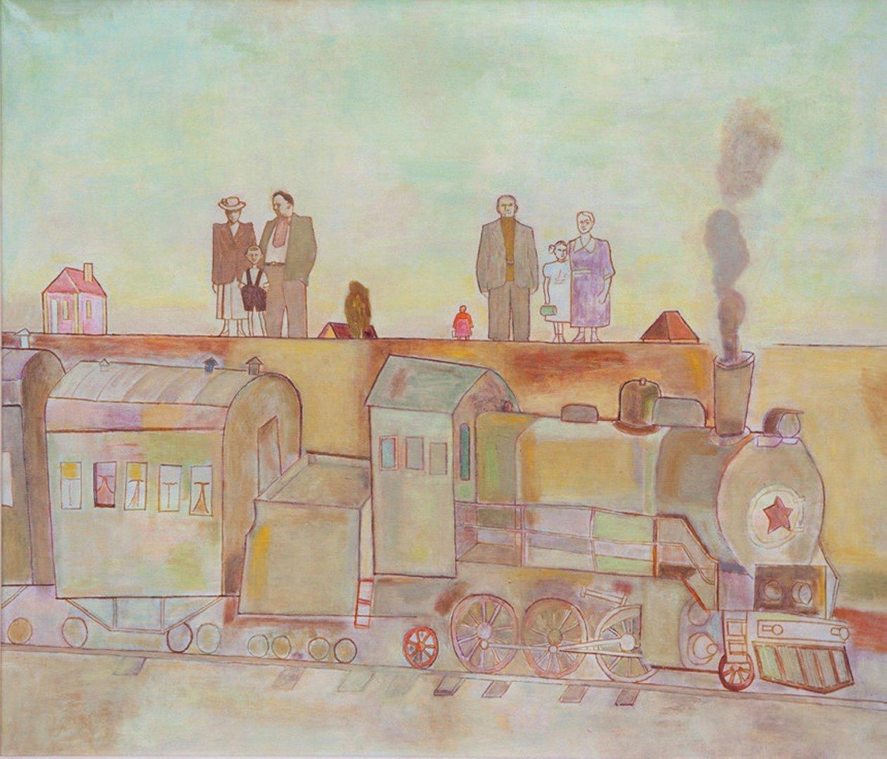 «Ожидание», Николай Пеганов, 2005, холст, масло