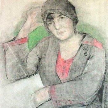 «Женский портрет», Касим Девлеткильдеев