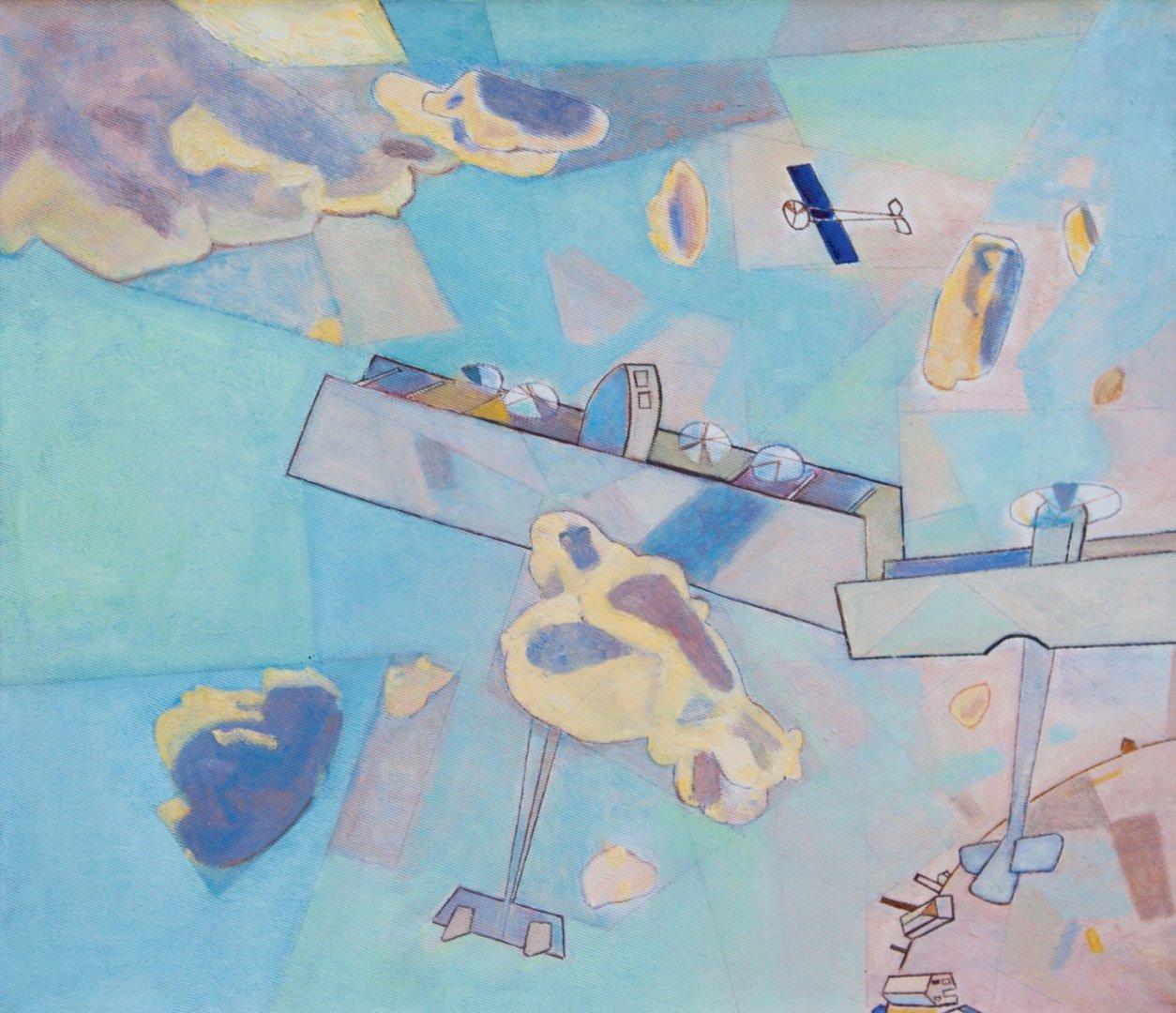 «В облаках», Николай Пеганов, 2004, холст, масло